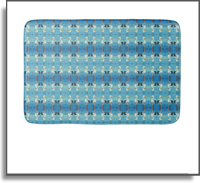 Colorful Pelican Patterned Bath Mat