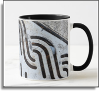 Swag Black Out Urban Vibe Two Tone Coffee Mug