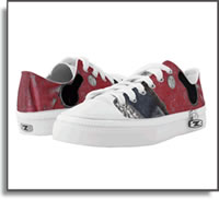 Red Road – Urban Vibe Low Top Sneakers – ZIPZ®