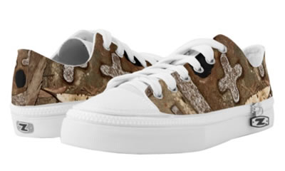 Swag Brown Copper+  Urban Vibe Low Top ZIPZ® Shoes