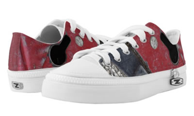 Red Road Urban Vibe Low Top ZIPZ® Sneakers